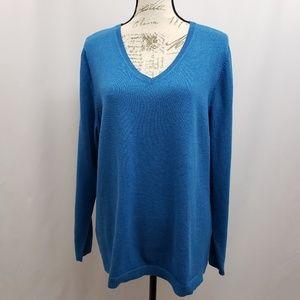 Croft & Barrow Plus Size V-Neck Sweater 1X